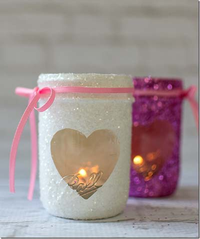Valentines Day Gift Ideas: Glitter Hearts