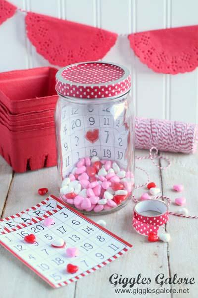 Valentines Day Gift Ideas: Valentine's Bingo